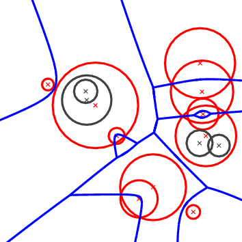 CGAL 4 14 - 2D Apollonius Graphs (Delaunay Graphs of Disks